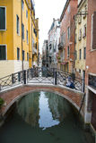 Streets of Venice, Italy. Royalty Free Stock Photography