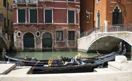 Streets of Venice, Italy. Royalty Free Stock Photography