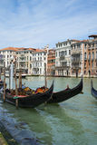 Streets of Venice, Italy. Royalty Free Stock Images