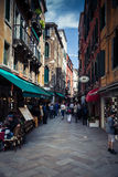 Streets of Venice Stock Image
