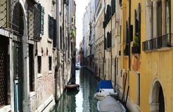 Streets of Venice. This is the true Venice Stock Images