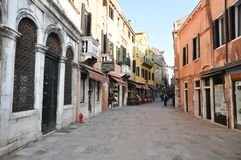 Streets of Venice Royalty Free Stock Photo