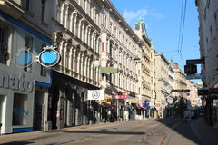 Streets of vienna Royalty Free Stock Images