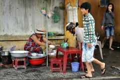 Streets of Vietnam Royalty Free Stock Images