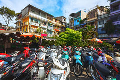 The streets of Vietnam. Stock Photography