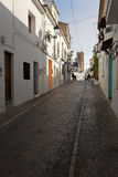 Streets of the village resort of Altea i Royalty Free Stock Photography