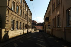 On the streets of Vilnius old Royalty Free Stock Image