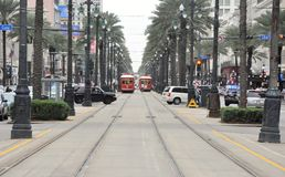 Streetscape Нового Орлеана Стоковая Фотография RF