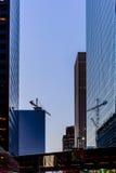 Streetscape céntrico de Houston Imagen de archivo