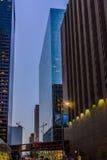 Streetscape céntrico de Houston Fotografía de archivo