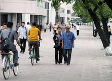 Streetscape 2013 de Pyong Yang Images stock