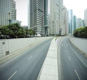 Streetscape de Shangai Lujiazui Imagen de archivo
