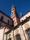 Streetscape de Würzburg Images libres de droits
