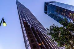 Streetscape do centro de Houston Imagem de Stock