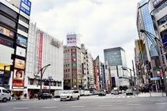 Streetscape do Tóquio de Japão foto de stock royalty free