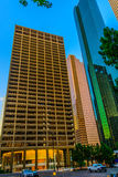 Streetscape du centre de Houston Photo stock