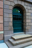 Streetscape front doors in Philly Royalty Free Stock Photography