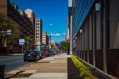 Streetscape of Harrisburg Royalty Free Stock Image
