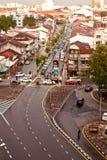 Streetscape och vägar av George Town, Penang Royaltyfria Foton