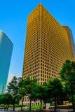 Streetscape van de binnenstad van Houston royalty-vrije stock fotografie