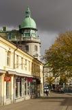 Streetscape van Gothenburg royalty-vrije stock foto
