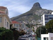 Streetscape van Kaapstad Stock Afbeeldingen