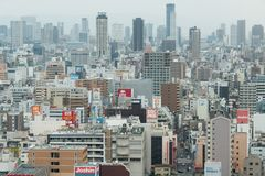 Streetscape van Kyoto stock foto