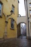 Streetscape van Luxemburg stock fotografie