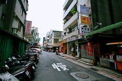 Streetscape w Taipei obraz stock