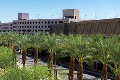 Streetscapes y edificios urbanos en Phoenix céntrica, AZ Fotografía de archivo libre de regalías