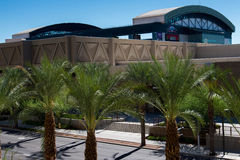 Streetscapes y edificios urbanos en Phoenix céntrica, AZ Imagenes de archivo
