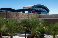 Streetscapes y edificios urbanos en Phoenix céntrica, AZ Fotos de archivo libres de regalías