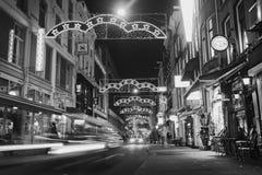 Streetscene in Amsterdam Stock Afbeelding