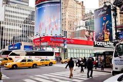 Streetscene de Nueva York en avenida de la manera Imagenes de archivo