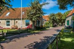 Streetscene of Hollum, Ameland, Holland Royalty Free Stock Photo