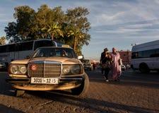 Streetscene in medina of Marrakech, Morocco Royalty Free Stock Photography