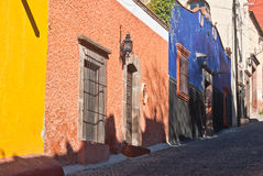 Streetscene mexicano Foto de Stock Royalty Free