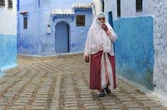 Streetscene in Morocco 1 Stock Image