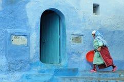Streetscene in Northern Morocco Stock Photo