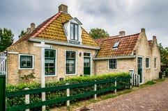 Streetscene Schiermonnikoog, Holland Stock Images