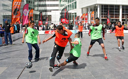 Streetsoccer Stock Photos