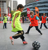 Streetsoccer Royalty Free Stock Images
