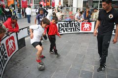 Streetsoccer Stock Images