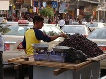 Streetview在阿尔贝拉,伊拉克,库尔德斯坦 库存照片