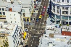 Streetview à San Francisco Photos stock