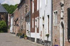 Streetview beguinage w Diest zdjęcia stock