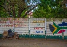 Streetview de Butterworth en el Canpe del este de Suráfrica Imagen de archivo