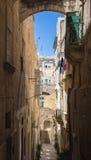 Streetview de Malta, La Valeta Fotos de archivo