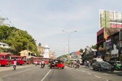 Streetview de Sri Lanka Foto de Stock