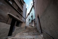 Streetview Girona Στοκ εικόνες με δικαίωμα ελεύθερης χρήσης